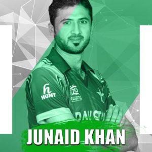 Junaid Khan Multan Sultans