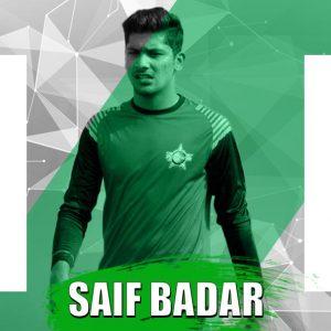 Saif Badar PSL3