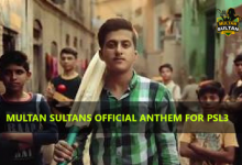 Multan Sultans official song 2018 for PSL3