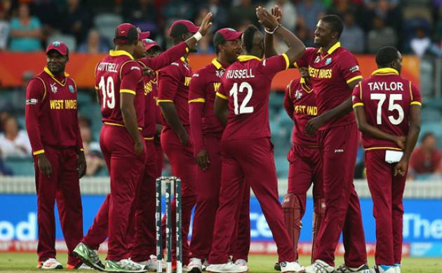 west indies squad against pakistan