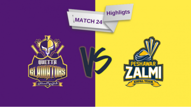 Match 23 PSL full highlights Quetta Gladiators vs Peshawar Zalmi