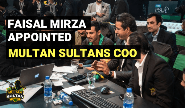 multan sultans chief operating officer faisal mirza